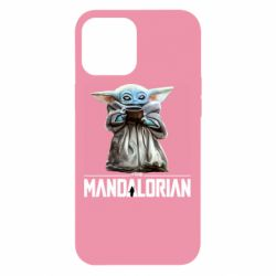 Чехол для iPhone 12 Pro Max Yoda with a cup