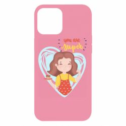 Чехол для iPhone 12 Pro Max You are super girl