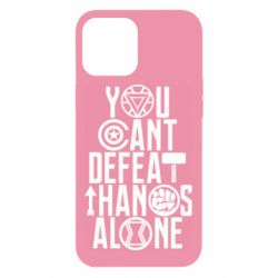 Чехол для iPhone 12 Pro Max You can't defeat thanos alone
