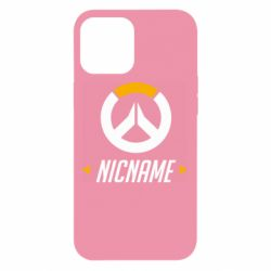 Чехол для iPhone 12 Pro Max Your Nickname Overwatch