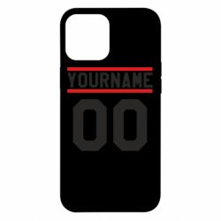 Чохол для iPhone 12 Pro Max Yourname USA