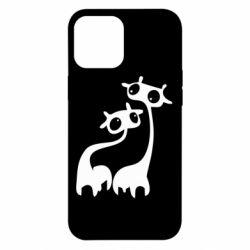 Чехол для iPhone 12 Pro Max Жирафы