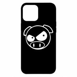 Чехол для iPhone 12 Pro Max Злая свинка