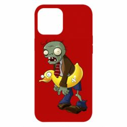 Чехол для iPhone 12 Pro Max Zombie with a duck
