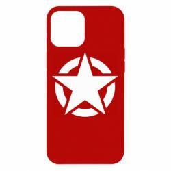 Чохол для iPhone 12 Pro Max Зірка Капітана Америки
