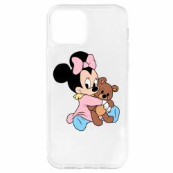 Чохол для iPhone 12 Pro Minnie And Bear