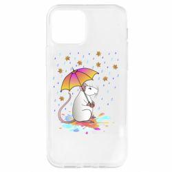 Чохол для iPhone 12 Pro Mouse and rain