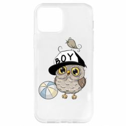 Чохол для iPhone 12 Pro Owl with a ball