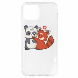 Чохол для iPhone 12 Pro Panda and fire panda