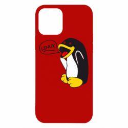 Чехол для iPhone 12 Pro Пингвин Линукс