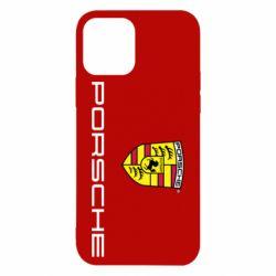 Чехол для iPhone 12 Pro Porsche