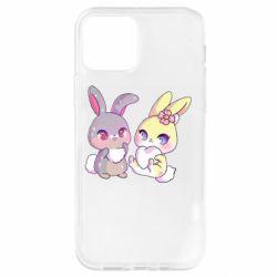 Чохол для iPhone 12 Pro Rabbits In Love