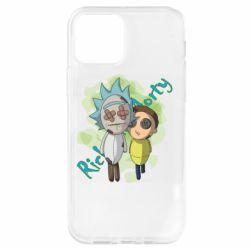 Чохол для iPhone 12 Pro Rick and Morty voodoo doll