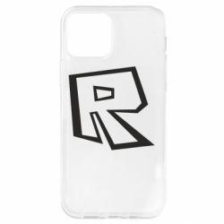 Чохол для iPhone 12 Pro Roblox minimal logo