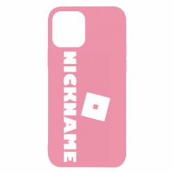 Чохол для iPhone 12 Pro Roblox Your Nickaneme