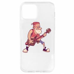 Чохол для iPhone 12 Pro Rock'n'roll Santa