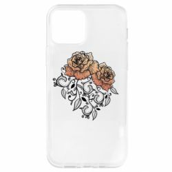 Чохол для iPhone 12 Pro Roses with patterns