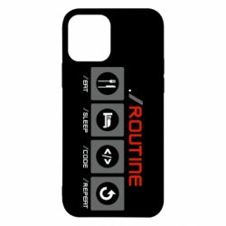 Чохол для iPhone 12 Pro Routine code