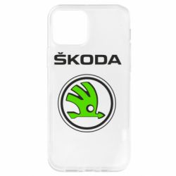 Чехол для iPhone 12 Pro Skoda Bird