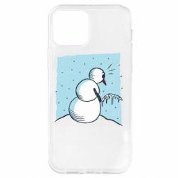Чохол для iPhone 12 Pro Snowman. It's Cold!
