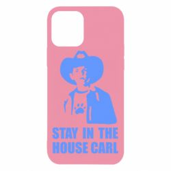 Чехол для iPhone 12 Pro Stay in the house Carl