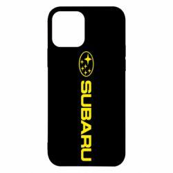 Чехол для iPhone 12 Pro Subaru logo