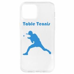 Чохол для iPhone 12 Pro Table Tennis Logo