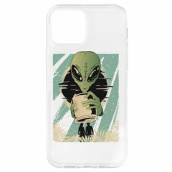 Чохол для iPhone 12 Pro Alien with a can