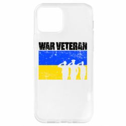 Чохол для iPhone 12 Pro War veteran