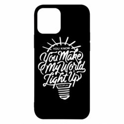 Чохол для iPhone 12 Pro You know your make my world light up coldplay