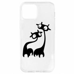 Чохол для iPhone 12 Pro Жирафи