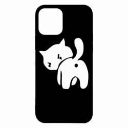 Чехол для iPhone 12 Pro злой котэ