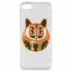 Чохол для iPhone 5S Alien Cat