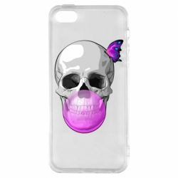 Чохол для iPhone 5S Butterfly on the skull