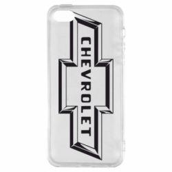 Чехол для iPhone 5S Chevrolet 3D