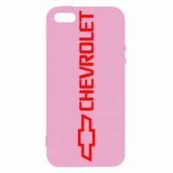 Чехол для iPhone 5S Chevrolet  Vert