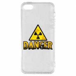 Чохол для iPhone 5S Danger icon