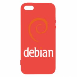 Чехол для iPhone 5S Debian