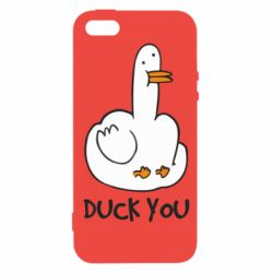 Чохол для iPhone 5S Duck you