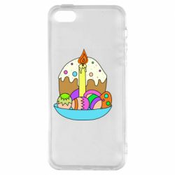 Чохол для iPhone 5S Easter cake and eggs