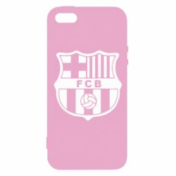 Чохол для iPhone 5S FC Barcelona