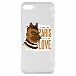 Чохол для iPhone 5S From Paris with love