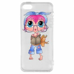 Чохол для iPhone 5S Girl with a book