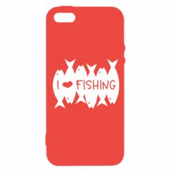 Чохол для iPhone 5S I Love Fishing