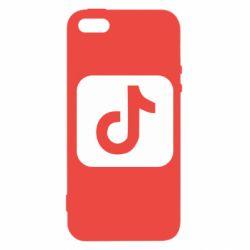 Чохол для iPhone 5S Иконка тик Ток