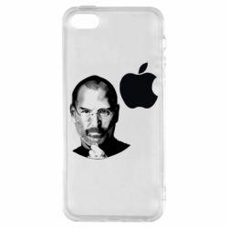 Чохол для iPhone 5S Jobs art