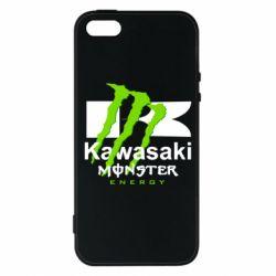 Чохол для iPhone 5S Kawasaki Monster Energy