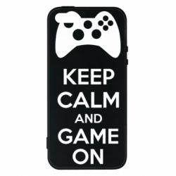 Чехол для iPhone 5S KEEP CALM and GAME ON