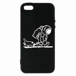 Чехол для iPhone 5S Космонавт