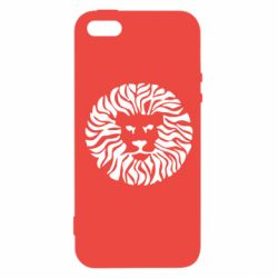 Чохол для iPhone 5S лев